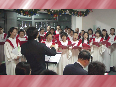 08诗班圣诞节献唱